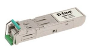 Трансивер D-Link 1-port mini-GBIC 1000Base-LX SMF WDM SFP up to 40km, LC connector (DEM-331T)