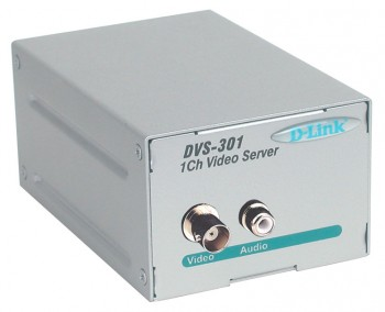 Модуль D-Link channel video server with MPEG4 compression (DVS-301) [dvs-301/e]