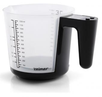Весы кухонные ZELMER KS1400,  черный