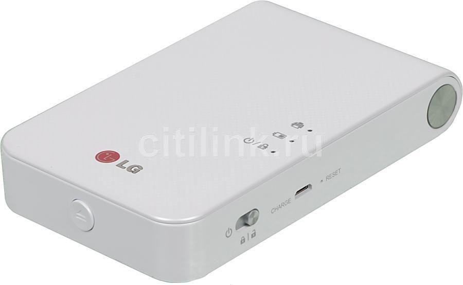 Принтер LG Pocket Photo PD239,  белый [pd239tw.drusllk]