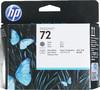 Печатающая головка HP №72 фото черный / серый [c9380a] вид 1