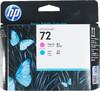 Печатающая головка HP №72 пурпурный / голубой [c9383a] вид 1