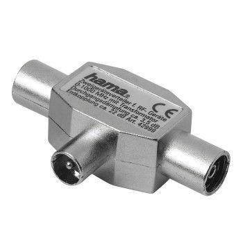 Сплиттер антенный HAMA Coax (m)  -  2xCoax (f)  [00122470]