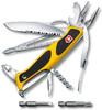 Нож перочинный Victorinox RangerGrip Boatsman (0.9798.MWC8) 130мм 22функций желтый/черный карт.короб вид 1