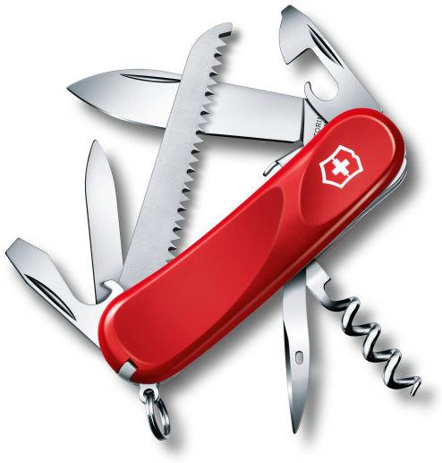 Складной нож VICTORINOX Evolution S13, 14 функций,  85мм, красный  [2.3813.se]
