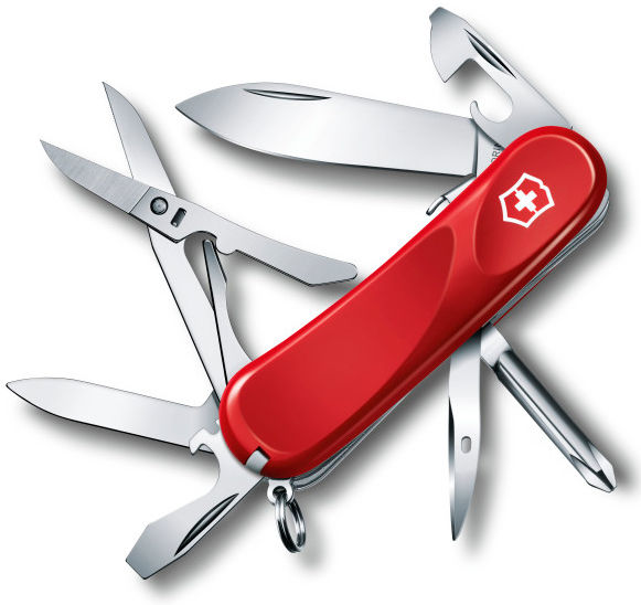 Складной нож VICTORINOX Evolution S16, 14 функций,  85мм, красный  [2.4903.se]