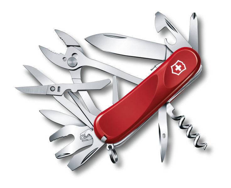 Складной нож VICTORINOX Evolution S557, 21 функций,  85мм, красный  [2.5223.se]