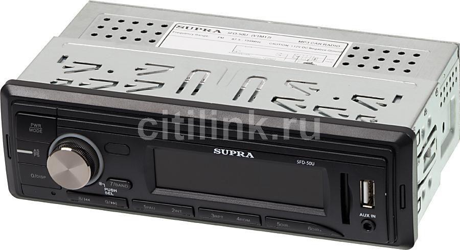 Автомагнитола SUPRA SFD-50U,  USB,  SD