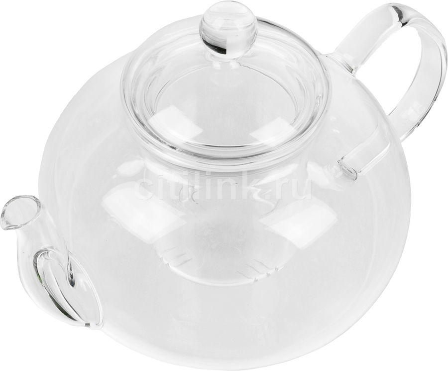 Заварочный чайник ROLSEN TCG-1001,  1л,  прозрачный