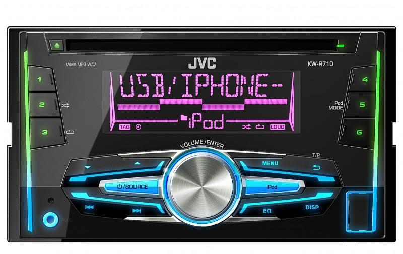 Автомагнитола JVC KW-R710EY,  USB