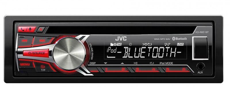 Автомагнитола JVC KD-R851BTE,  USB