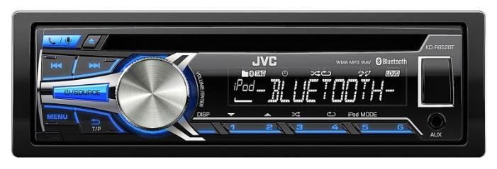 Автомагнитола JVC KD-R852BTEY,  USB