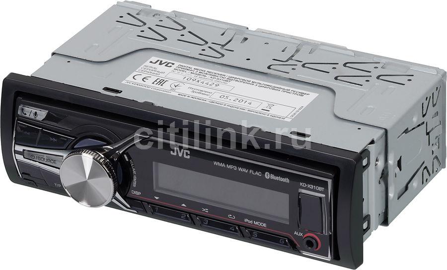 Автомагнитола JVC KD-X310BTE,  USB