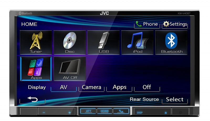 Автомагнитола JVC KW-V40BTEE,  USB