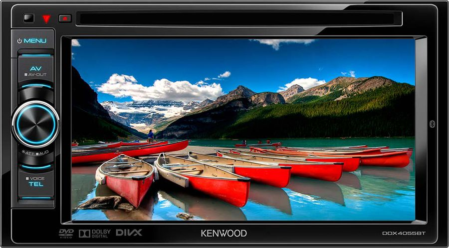Автомагнитола KENWOOD DDX-4055BT,  USB