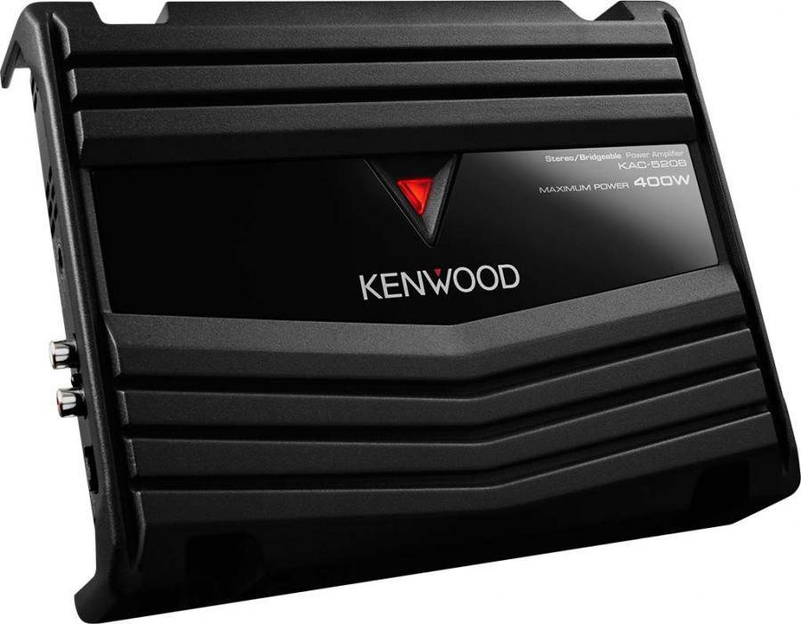 Усилитель автомобильный KENWOOD KAC-5206,  черный [kac5206]