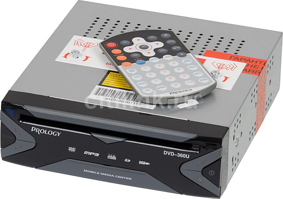 Автомагнитола PROLOGY DVD-360U,  USB,  SD