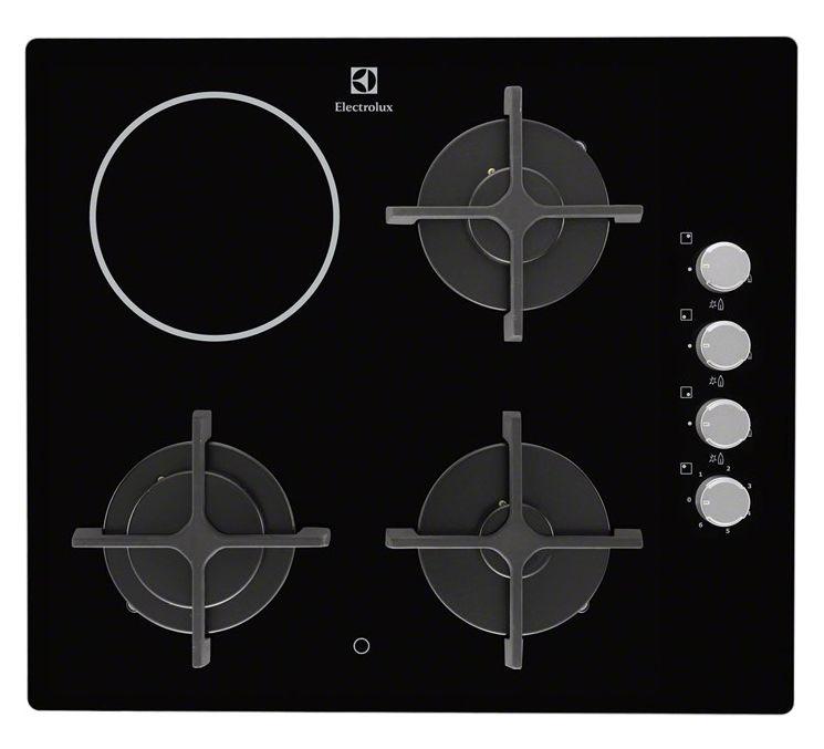 Варочная поверхность ELECTROLUX EGE6182NOK,  независимая,  черный