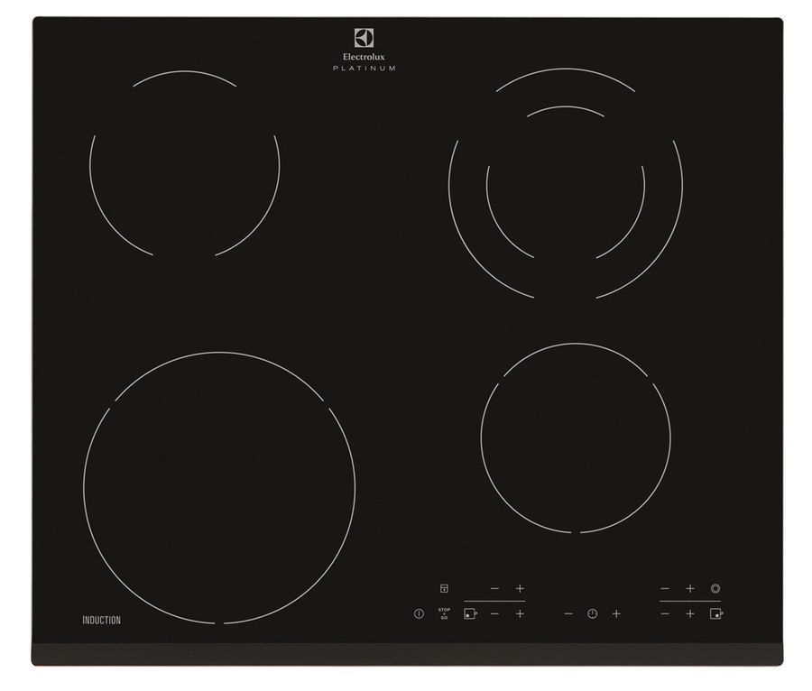 Варочная панель ELECTROLUX EHG96341FK,  индукционная,  независимая,  черный