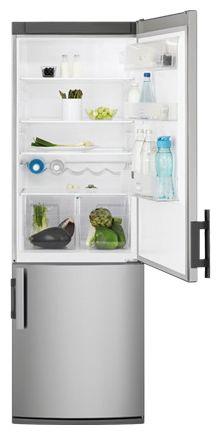 Холодильник ELECTROLUX EN 3600 AOX,  двухкамерный,  серебристый [en3600aox]