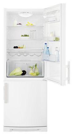 Холодильник ELECTROLUX ENF4450AOW,  двухкамерный,  белый
