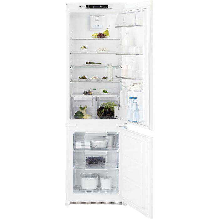 Встраиваемый холодильник ELECTROLUX ENN92853CW белый