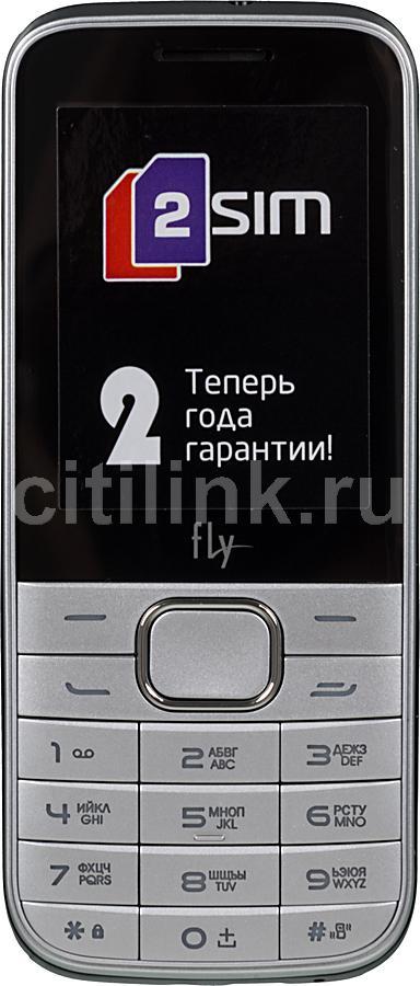 Мобильный телефон FLY DS115+  серебристый