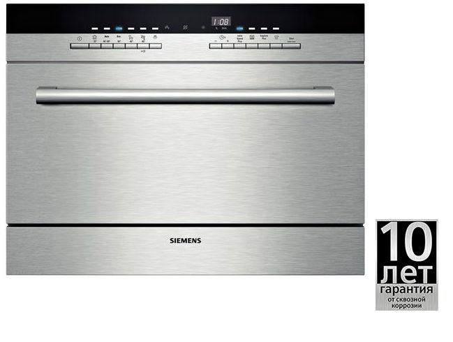 Посудомоечная машина SIEMENS SK76M544RU,  серебристый