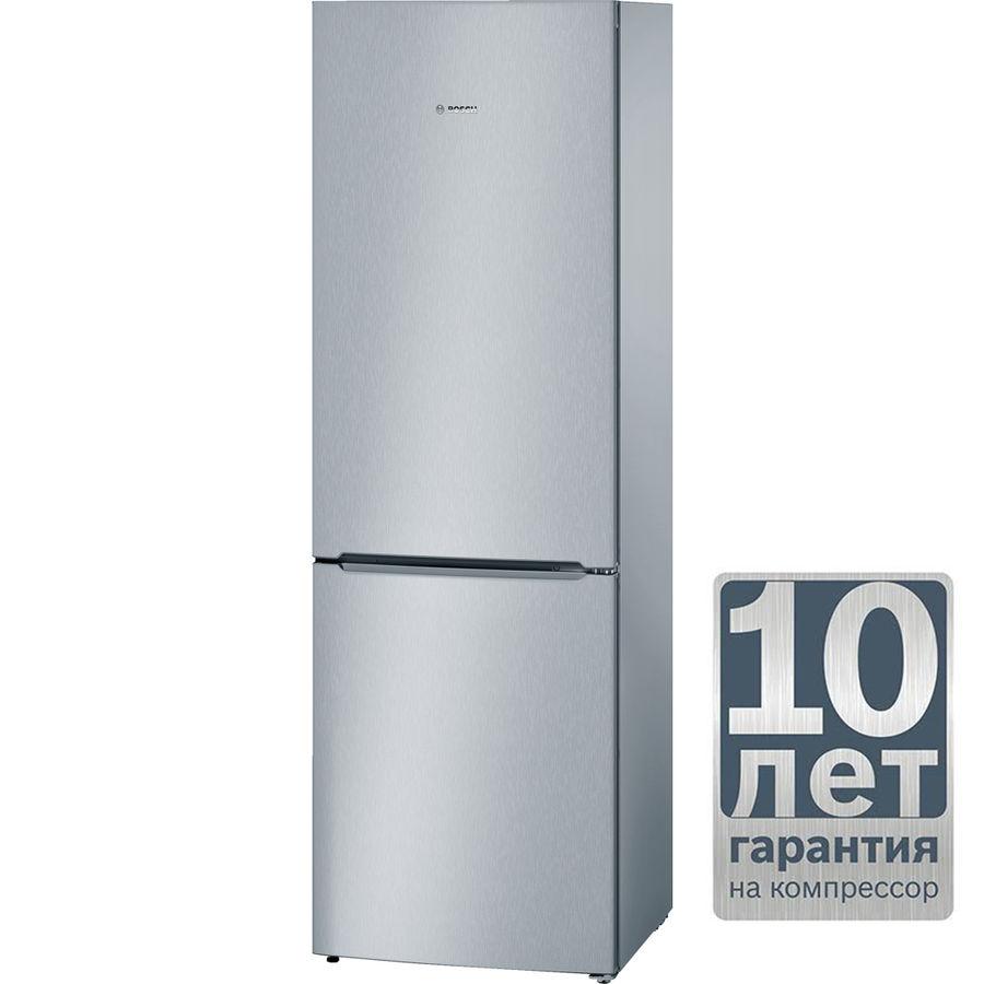 Холодильник BOSCH KGV36VL23R,  двухкамерный,  серебристый