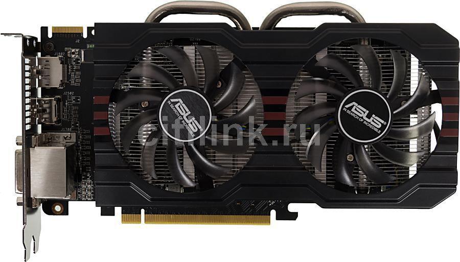 Видеокарта ASUS Radeon R7 265,  R7265-DC2-2GD5,  2Гб, GDDR5, Ret