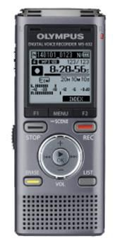 Диктофон OLYMPUS WS-832 4 Gb,  серый