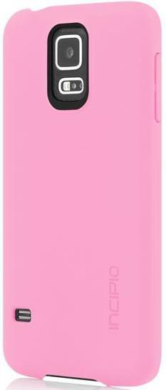 Чехол (клип-кейс) INCIPIO Feather (SA-527-PNK), для Samsung Galaxy S5, розовый
