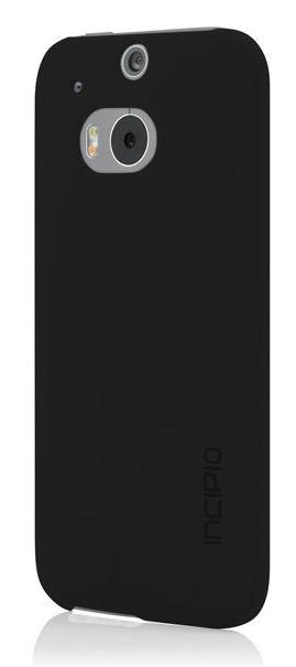 Чехол (клип-кейс) INCIPIO Feather, для HTC One M8, черный [ht-397-blk]