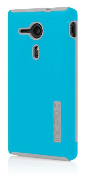 Чехол (клип-кейс) INCIPIO DualPro (SE-212), для Sony Xperia SP, голубой