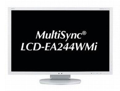 "Монитор NEC E243WMi 23.8"", серебристый"