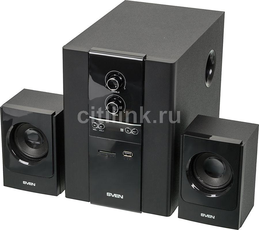 Колонки SVEN MS-1820,  черный [sv-01301820bk]