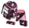 Ранец Step By Step Comfort Unicorn фиолетовый/розовый пони 4 предмета [00129092] вид 1