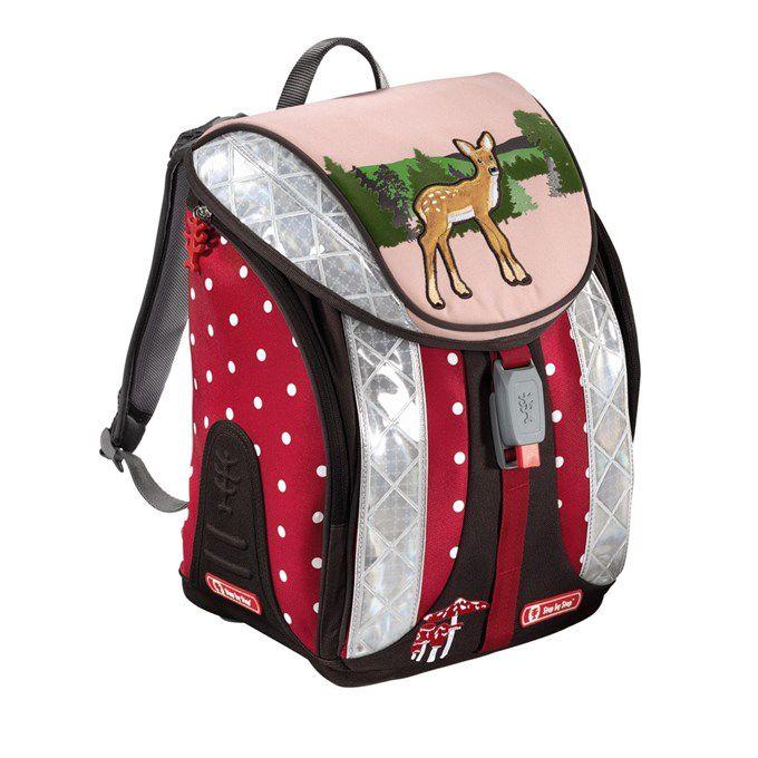 Ранец Step By Step Flexline Lovely Deer розовый/рисунок олень 5 предметов [00129081]