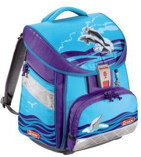 Ранец Step By Step Comfort Happy Dolphins полиэстер голубой/фиолетовый [00129087]