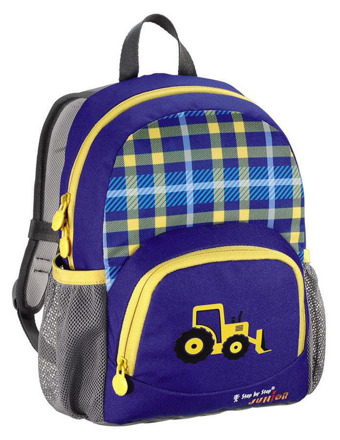 Рюкзак детский Step By Step Junior Dressy Excavator синий/желтый Экскаватор