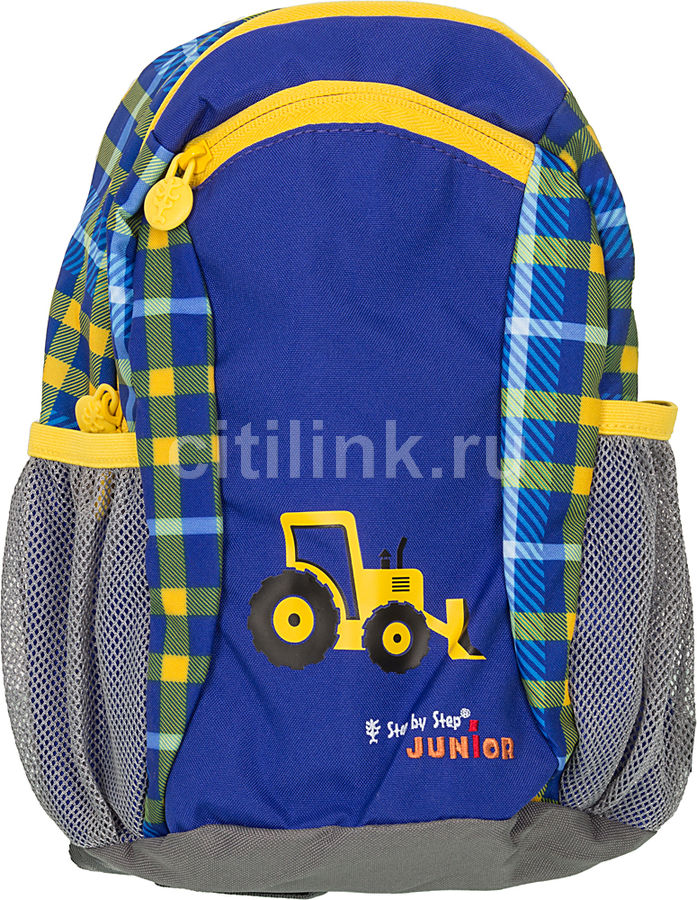 Рюкзак детский Step By Step Junior Talent Excavator синий/желтый Экскаватор [00129119]