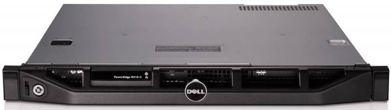 Сервер Dell PE R210II E3-1240V2/ x4 NL SAS 2x500Gb 7.2K 2.5