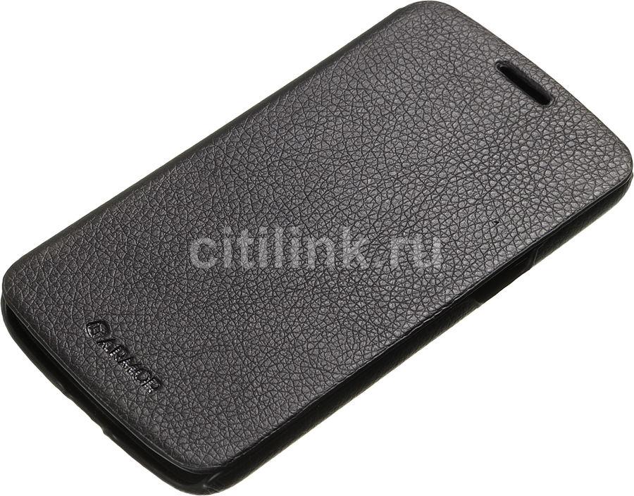 Чехол (флип-кейс) ARMOR-X Book, для Samsung Galaxy Grand 2, черный