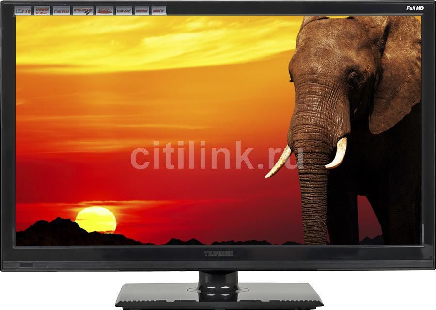 "LED телевизор TELEFUNKEN TF-LED22S5  ""R"", 21.5"", FULL HD (1080p),  черный"