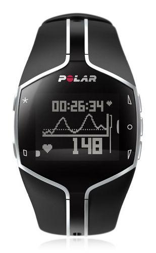 Часы-пульсометр Polar FT80 черный [90032785]