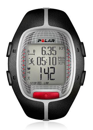 Часы-пульсометр Polar RS300X GPS черный/серый [90036620]