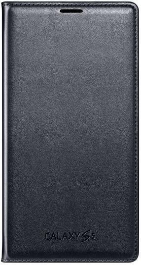 Чехол (флип-кейс) SAMSUNG Flip Wallet, EF-WG900BBEGRU, для Samsung Galaxy S5, черный