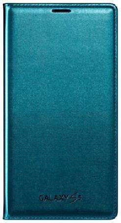 Чехол (флип-кейс) SAMSUNG Flip Wallet, EF-WG900BGEGRU, для Samsung Galaxy S5, зеленый