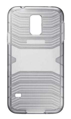 Чехол SAMSUNG EF-PG900BSEGRU, для Samsung Galaxy S5, темно-серый