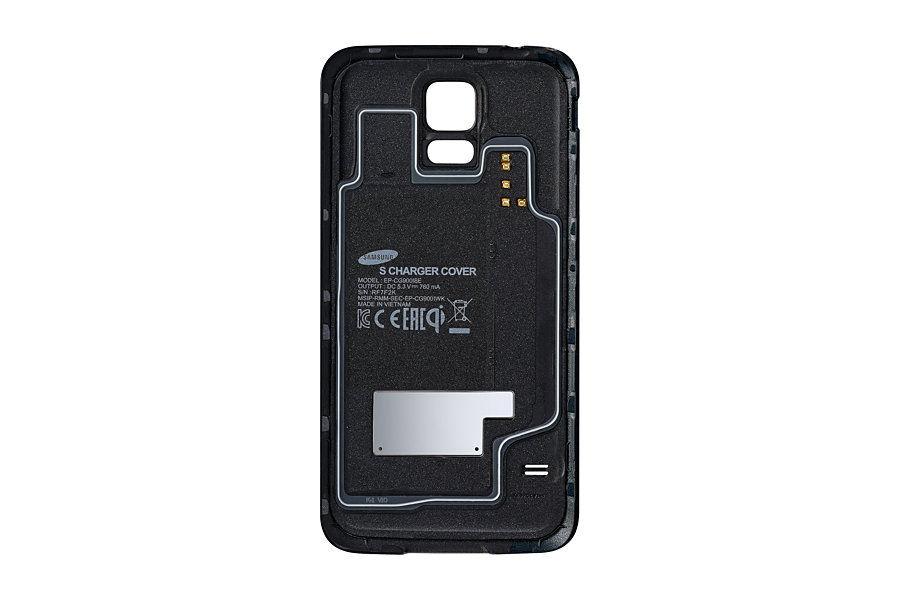 Беспроводное зарядное устройство SAMSUNG EP-WG900IBRGRU,  0.76A,  черный